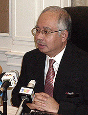 najib on subprime crisis 300908