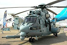 helicopter military eurocopter cougor ec 725 troop transporter