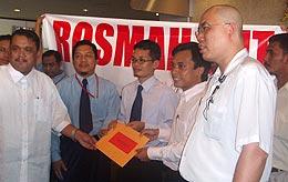 memo against rosmah unisel chancellor pakatan rakyat 051108 02