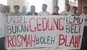 memo against rosmah unisel chancellor pakatan rakyat 051108 03