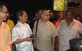 bersih 1st year anniversary pj vigil arrest 111108 rpk ronnie tony bala