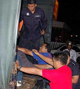 bersih 1st year anniversary pj vigil arrest 111108 tony pua