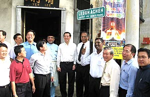 penang multilingual road sign street sign ceremony 211108 02