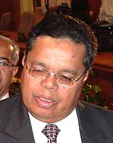 kuala terengganu parliament by election spr ec announcement  051208 mat razali kassim
