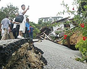 ulu kelang bukit tinggi landslide 061208 01