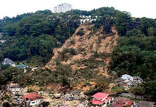 bukit anatarabangsa landslide pdrm aerial photographs 101208 03