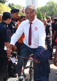 jerit parliament ride for change final leg 181208 d jeyakumar