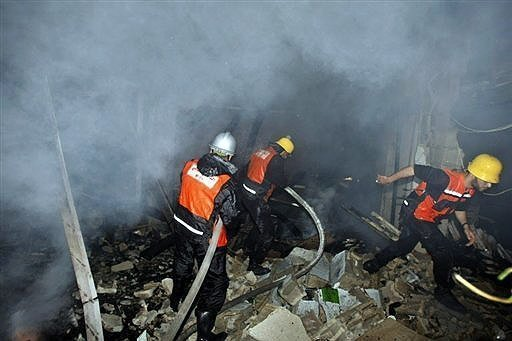 israel invades gaza strip hamas palestine