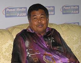kuala terengganu by election ahmad said visit media centre 080109 03