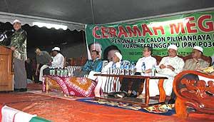 kuala terengganu by election pakatan ceramah perdana 060109 leaders
