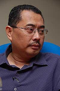 kuala terengganu by election wan farid interview 130109 03