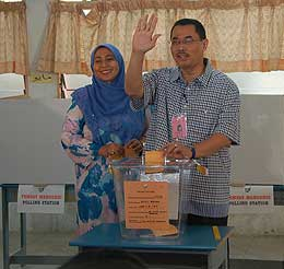 kuala terengganu by election 170109 polling wan farid 02