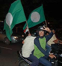 kuala terengganu by election 170109 victoy parade