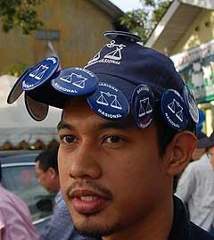 kuala terengganu by election 170109 polling day cap