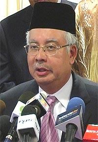 najib meet with sultan perak pc 050209 02