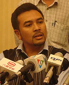 jamaluddin press conference 020209 firdaus saharuddin