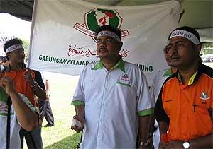 umno youth rally 090209 jais abdul karim gpms vice chief