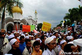 perak mb ubudiah mosque bn takeover 060209 02