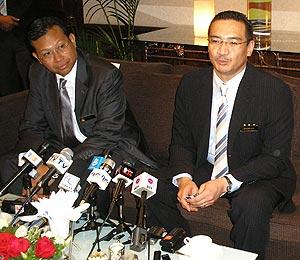 hishammuddin hussein ppsmi languanges debate issue 260209 02