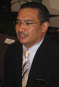 hishammuddin hussein ppsmi languanges debate issue 260209 05