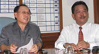 Jeffrey Kitingan and Ronnie Klassen