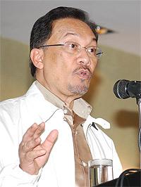 anwar ibrahim special briefing 280209