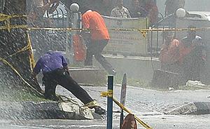 brickfields uthayakumar hindraf 280209 water cannon