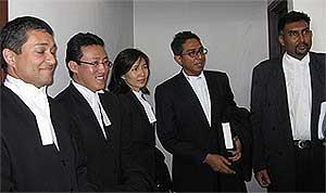 perak state govt crisis 030309 lawyers