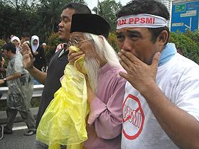 anti ppsmi rally 070209 pak samad chokes