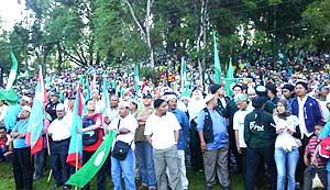 bukit gantang by election nomination day 290309 03
