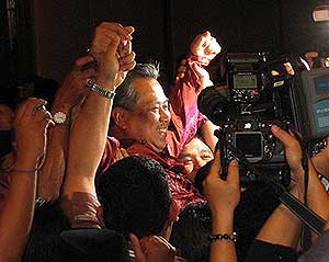 muhyiddin hishamuddin zahid shafie deputy vice presdient umno 2009 victory 270309 10