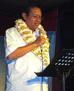 bukit gantang by election shabery chik mic campaign 020109 01