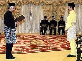 vnajib installed as sixth malaysia prime minister 030409