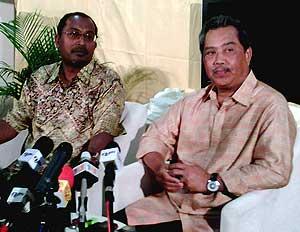 bukit gantang muhyiddin yassin and zambry pc on bn loss 070409