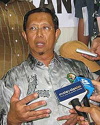 gantang by election 070409 pas nizar win result announce 06