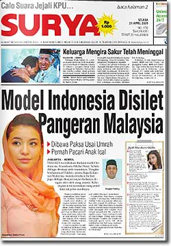 manohara odelia pinot tengku kelantan royal indonesia model controversy 210409