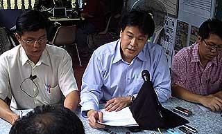cheah kah peng lim eng nam rebutal on aminah abdullah allegation penanti by election pc 260509 03