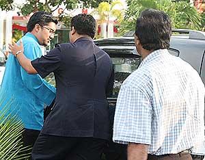 badrul hisham shaharin altantuya police questioning 290509 01