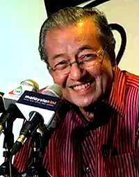 mahathir at bum 2009 bloggers conference talking about sex and old age 290509 04