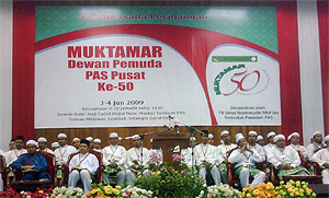 muktamar 55 youth dpp 030609 stage