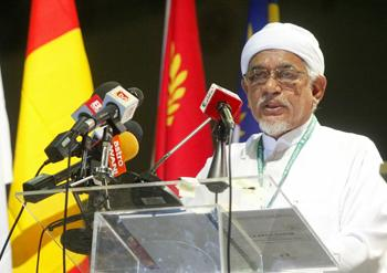 pas muktamar hadi giving speech