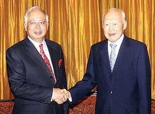 lee kuan yew state visit to malaysia 110609 02
