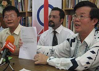 tan beng huat resign as jawi state rep penang lim guan eng dap 110609 05