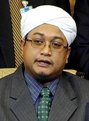 pas umno pemuda talks parliment 010709 nasrudin hassan