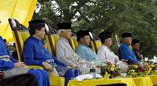 majlis raja raja rulers council 300609