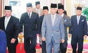 majlis raja raja rulers council 300609 2