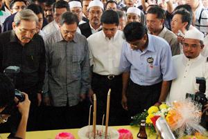 teo beng hock funeral 200709 pakatan leaders 04