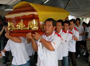teoh beng hock funeral 200709 casket