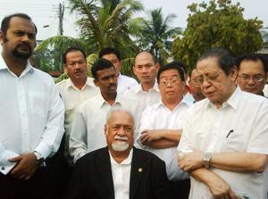 teo beng hock funeral 200709 dap leaders