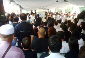 teo beng hock funeral 200709 01